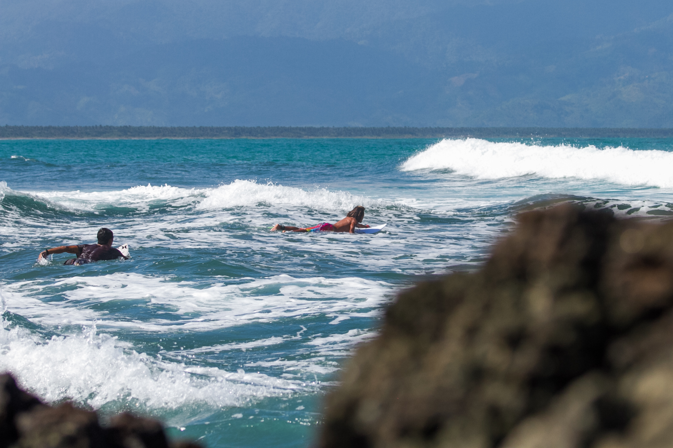 Paddle out to Cemento Reef