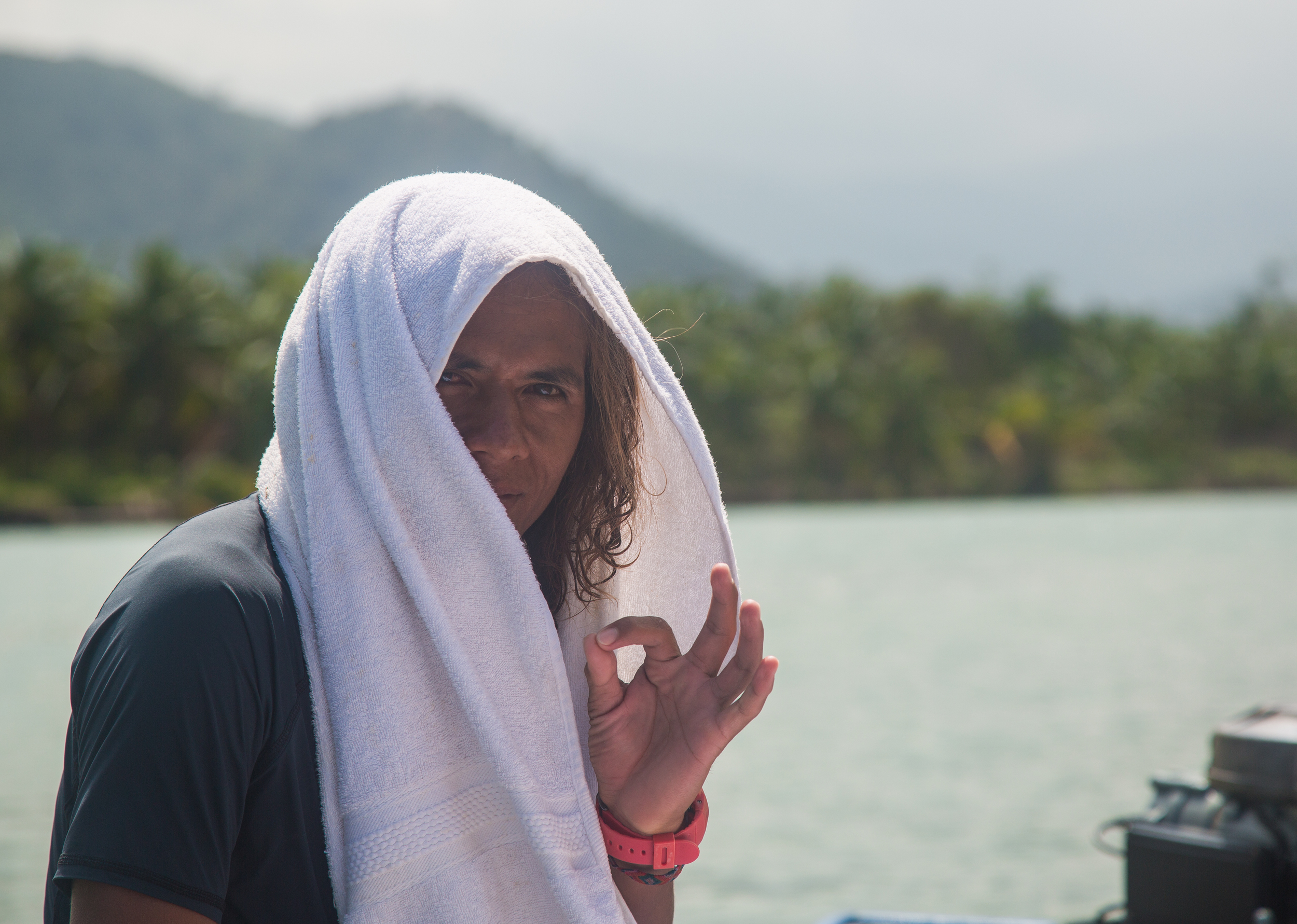 Our surf guide Mike. Took us all round Baler not just the surf spots. Legend.