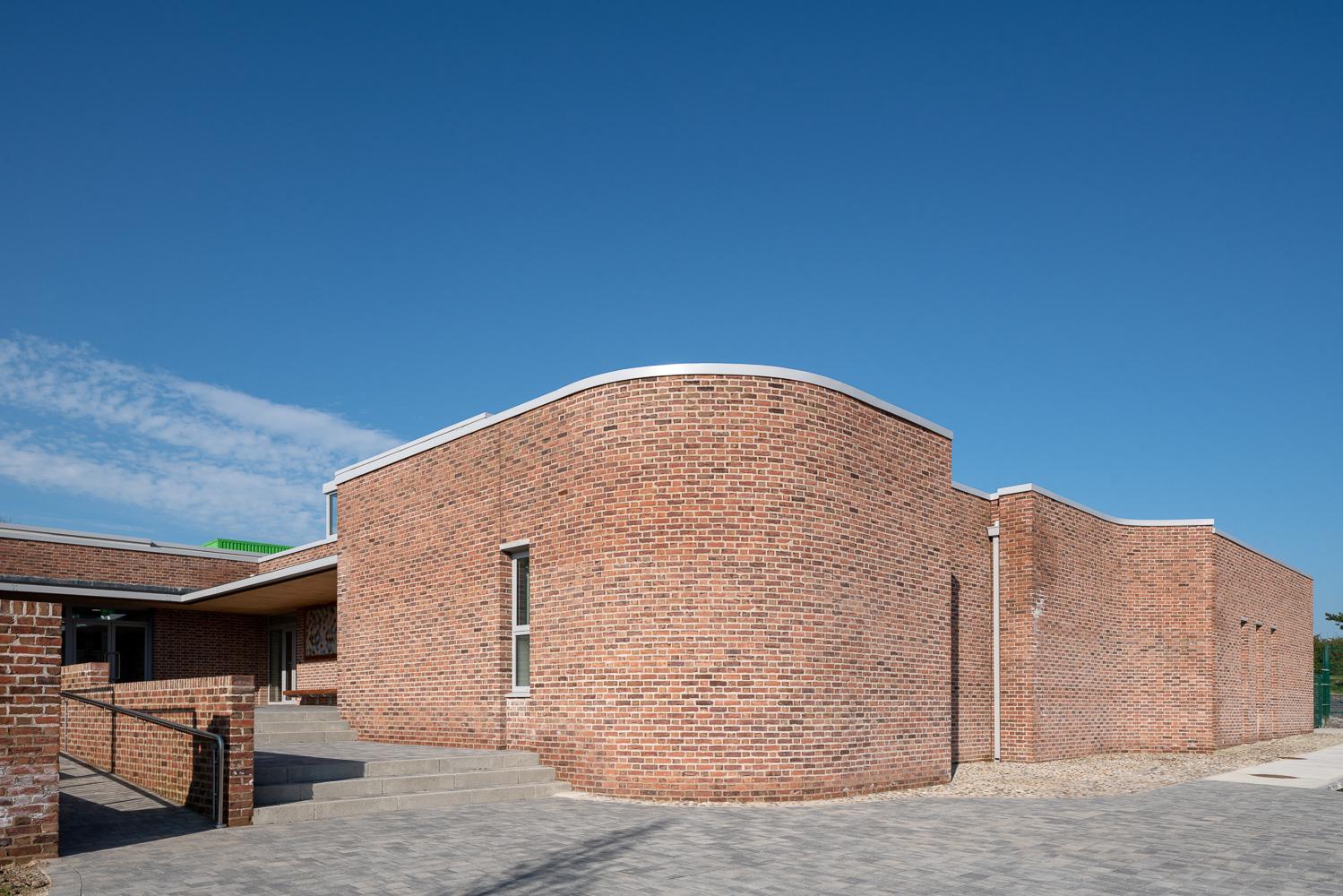 Entrance Atrium for entire school community