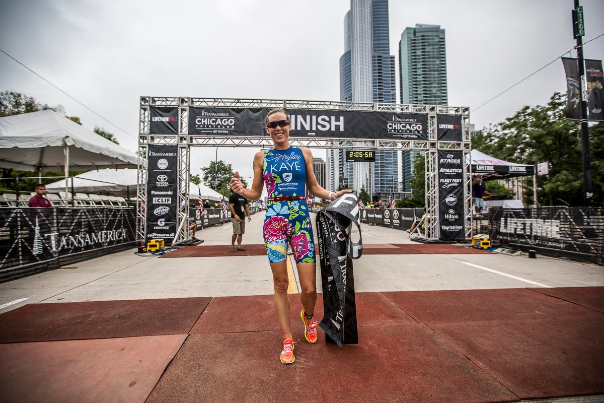 Alicia Kaye Chicago Triathlon 2014 Winner