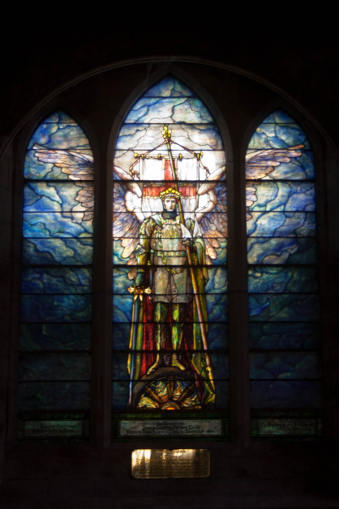 Tiffany Window, Fyvie Kirk (Photo: Gordon Watt)