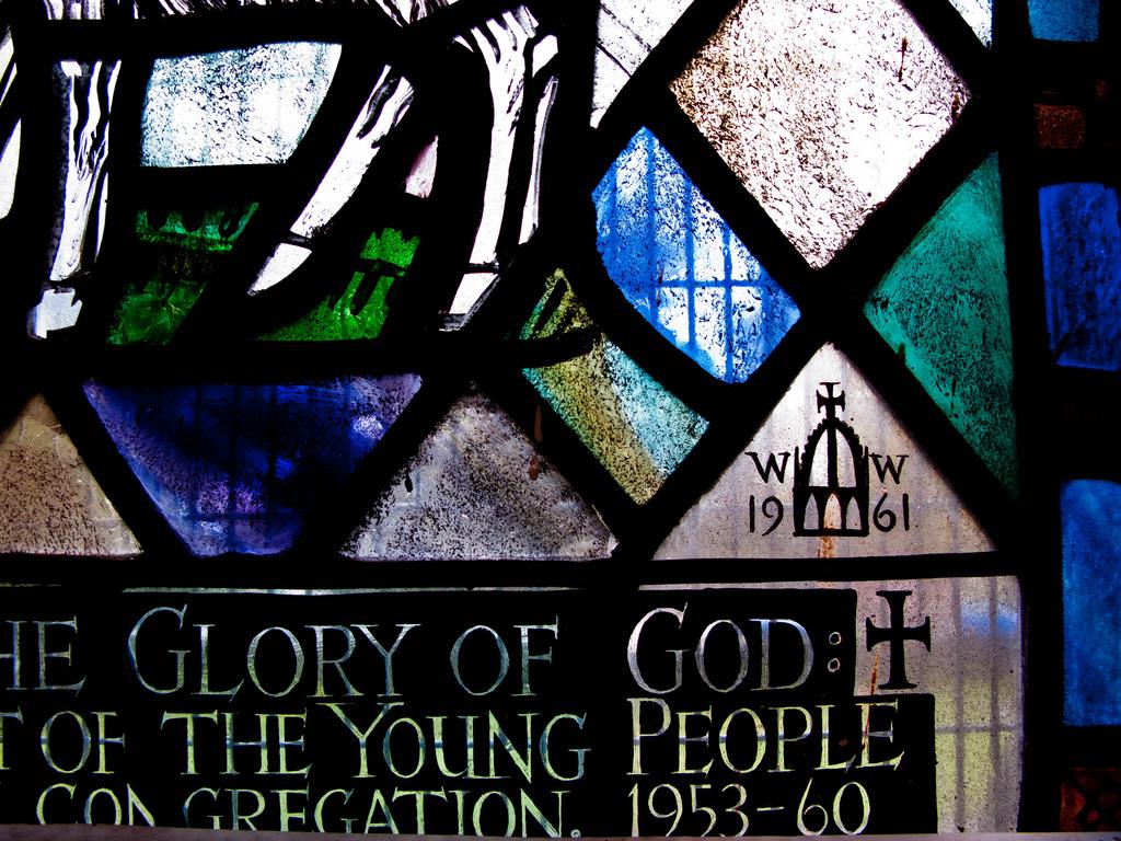 William Wilson Signature, Craigiebuckler Church (Photo: Gordon Watt)