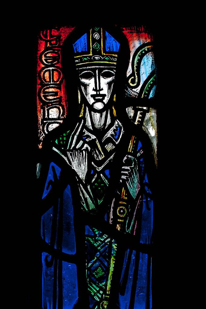 St Andrew (detail), Dunblane Cathedral - Gordon Webster (Photo: Gordon Watt)