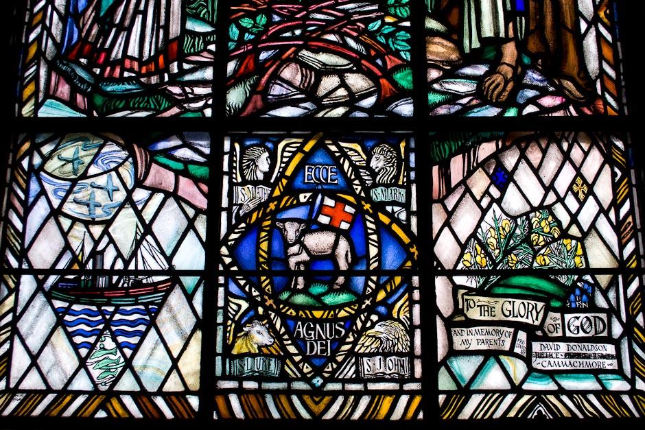 East Window (Detail), Portlethen Kirk (Chilton & Bell, 1940). Photo: Gordon Watt