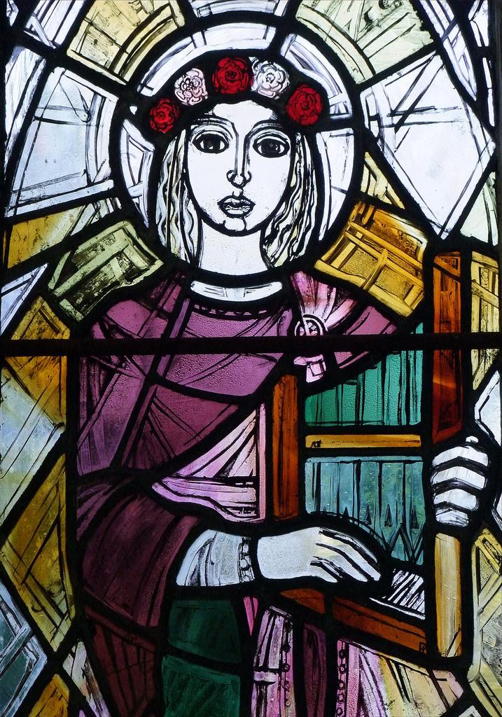 St Cecilia (Detail) - Photo: Simon K