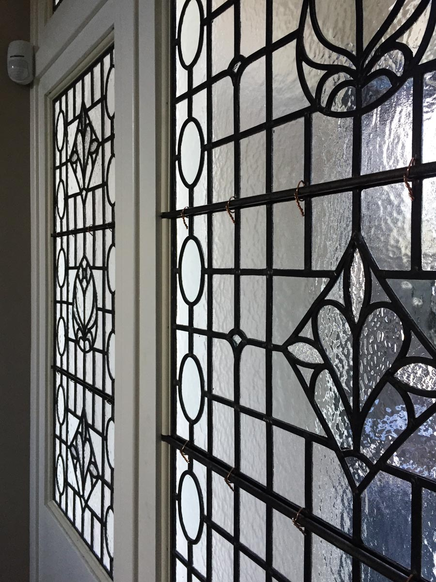 Traditional Designs - Bespoke stained glass windows add a touch of authenticity, style and class to any period property. Our windows are hand-made, using quality materials and traditional methods, and are built to last.