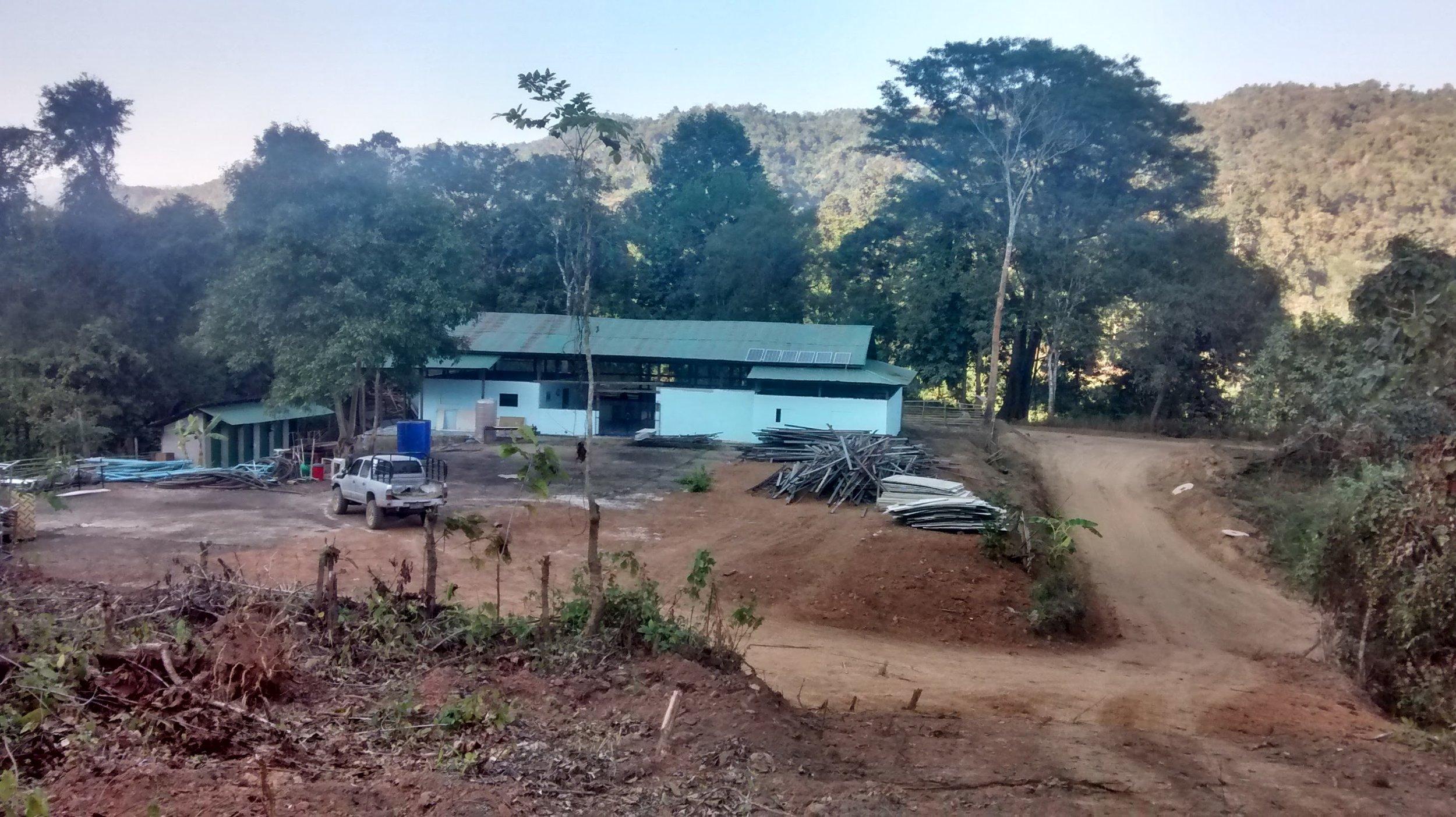 SMRU kliniek in Mae Salid
