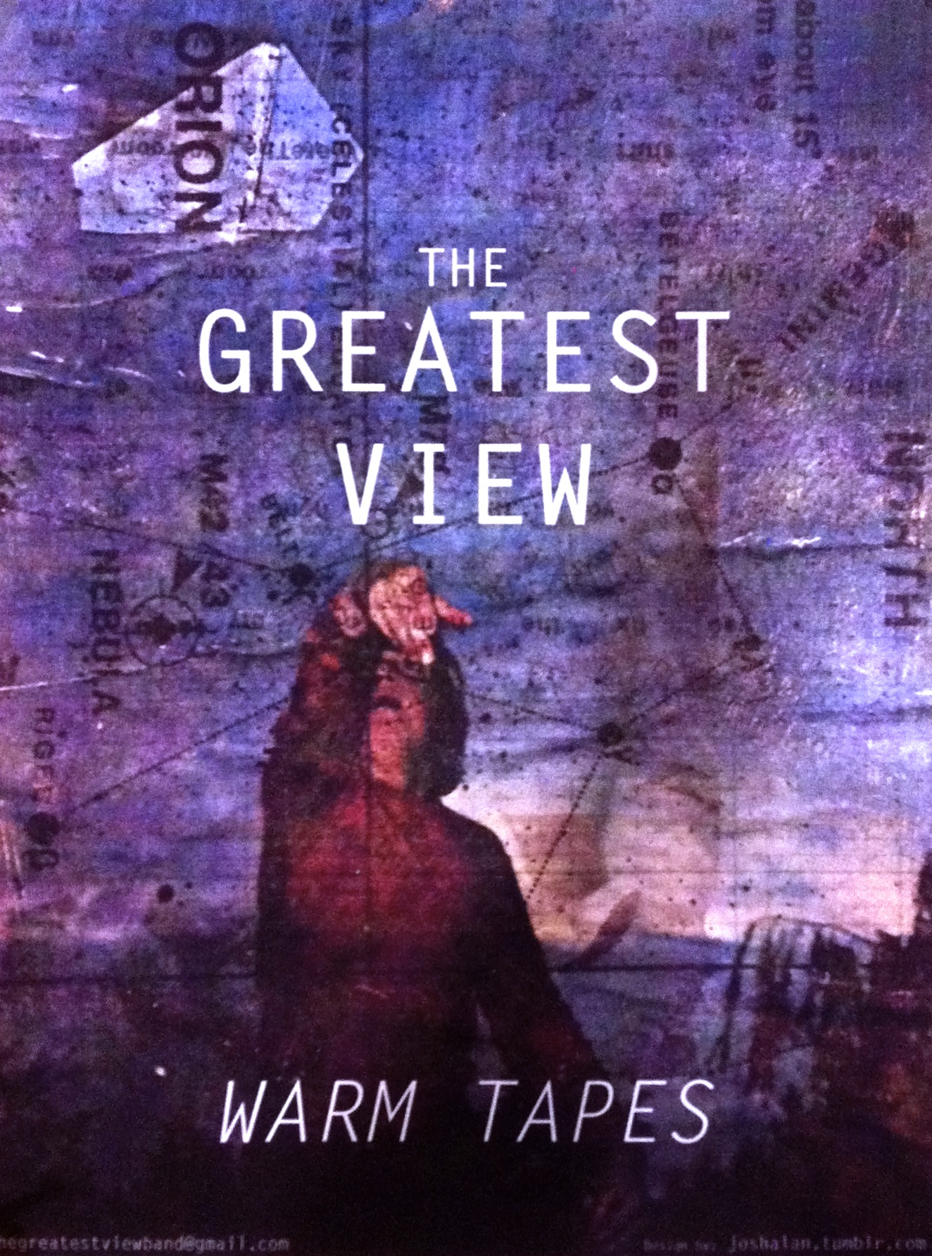 """The Greatest View """"Warm Tapes"""" Poster"""