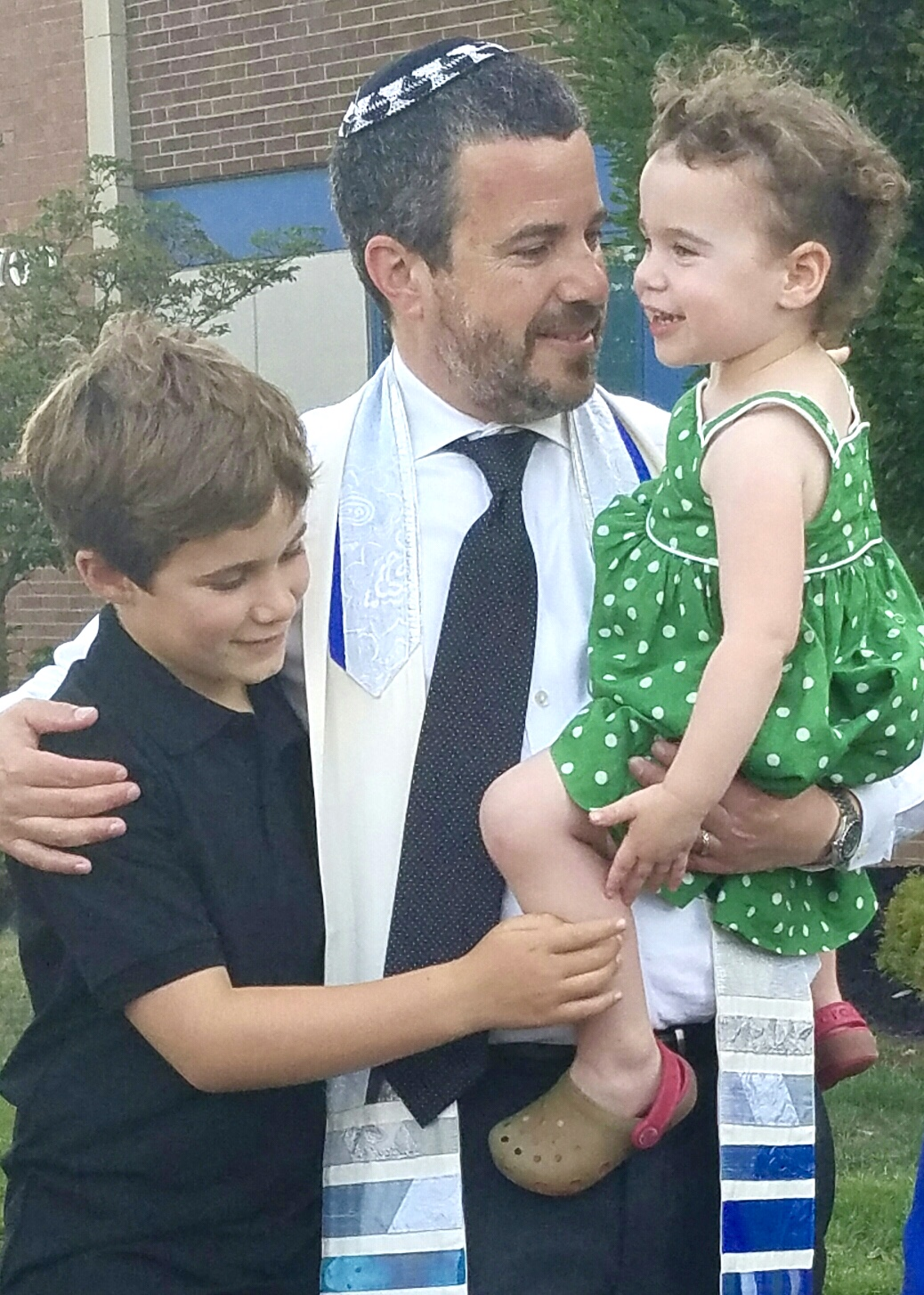 Rabbi Jonathan Freirich, Jude & Sadie, Summer 2016
