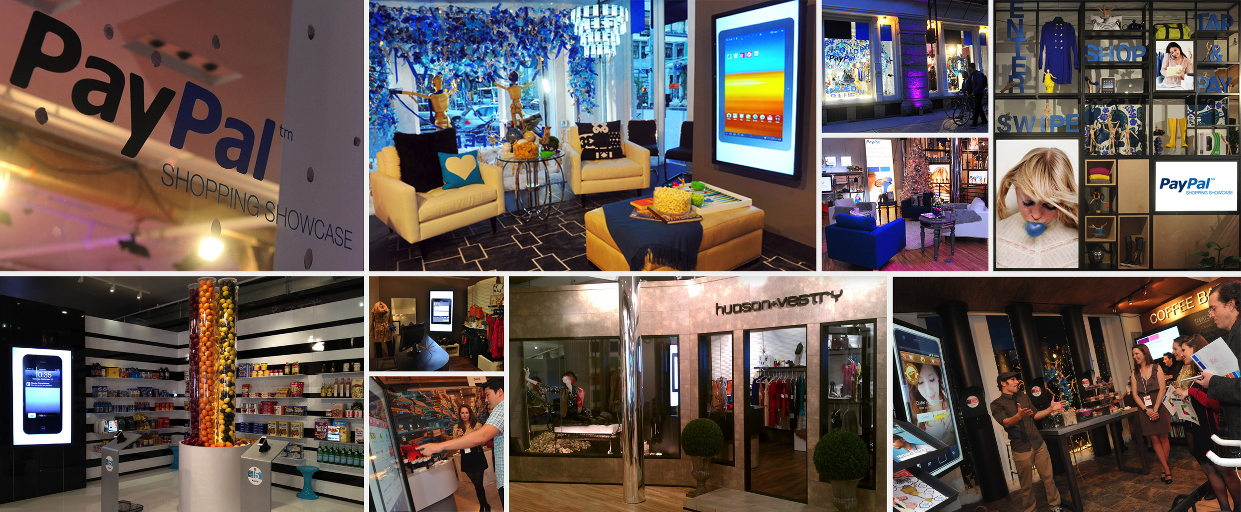 PayPal: Shopping Showcase– Tribeca Pop-Up Store, NYC