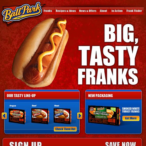 Ball Park Brand: Website