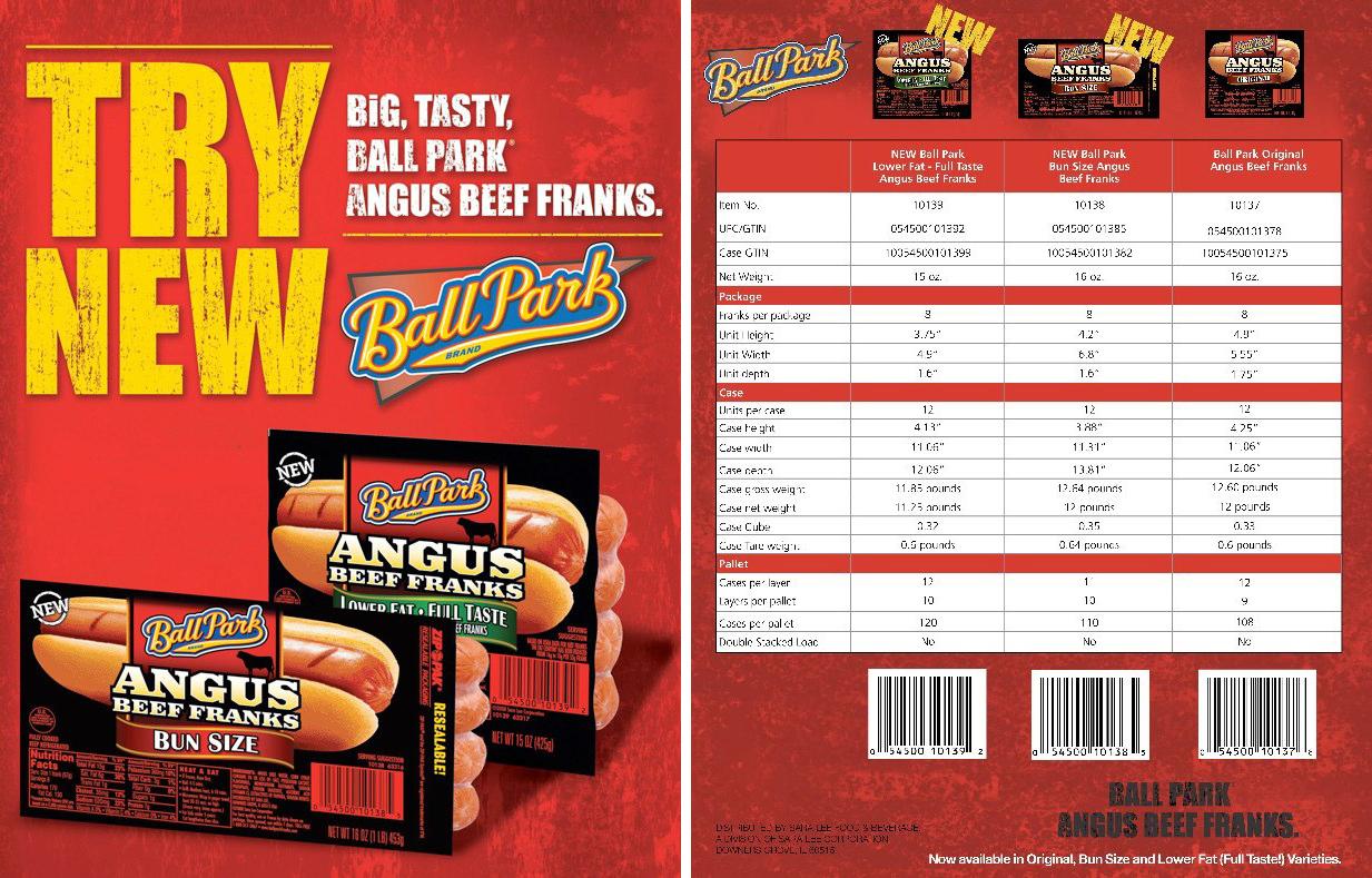Ball Park Angus: Sell Sheet V1