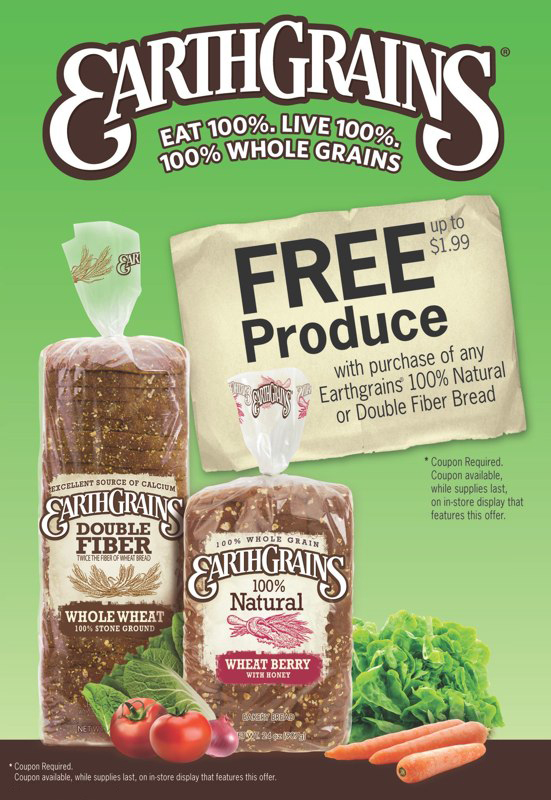 EarthGrains: Free Produce Promotion – Ad Slick