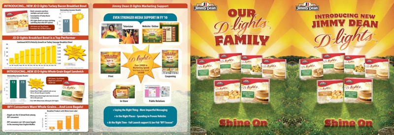 Jimmy Dean: D-Lights Brochure Outside