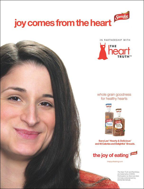 Sara Lee: The Heart Truth – Print Ad