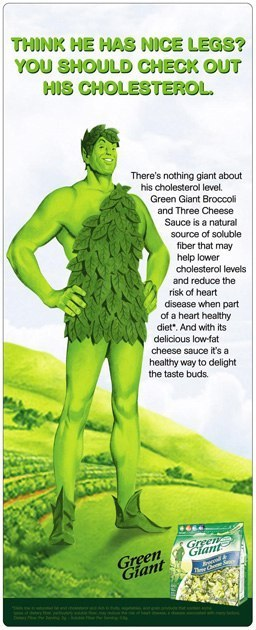 Green Giant: Print Ad