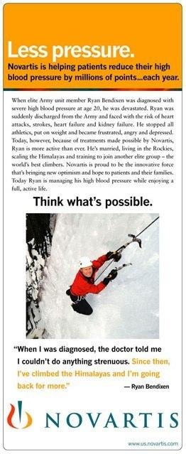 Novartis: Print Ad