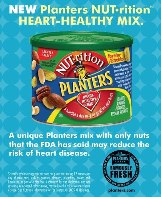 Planters Nuts: Print Ad