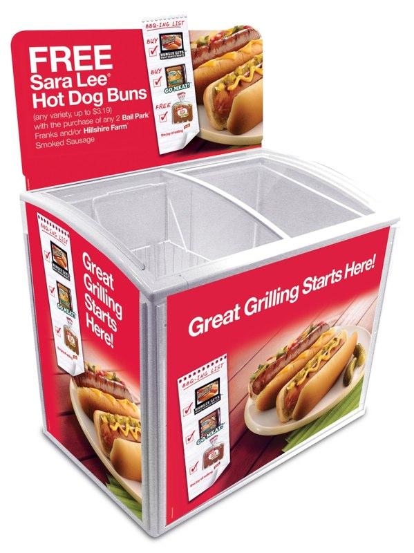 Ball Park / Hillshire Farm / Sara Lee: Promotional Cooler