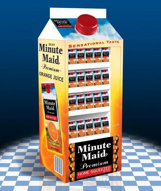 Minute Maid: Refrigerated Display