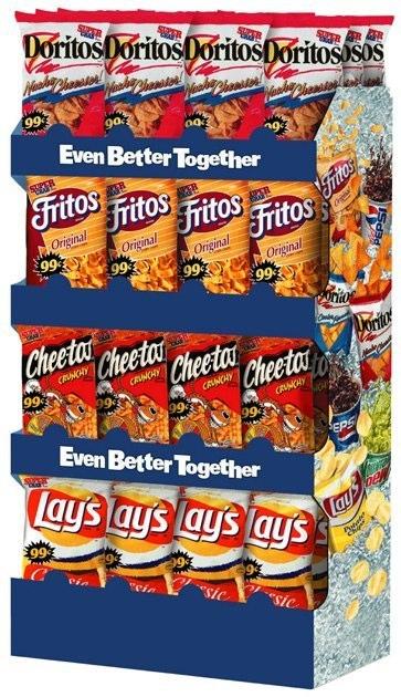 Frito-Lay / Pepsi: Shipper Display