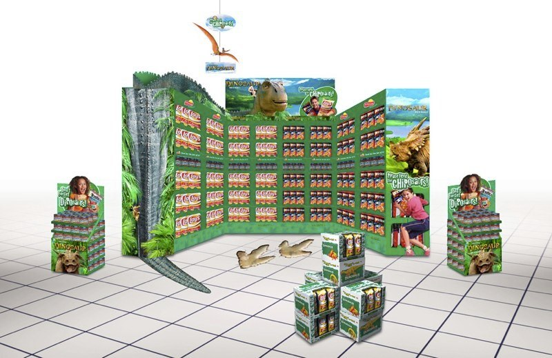 Frito-Lay: Disney Dinosaur – SuperLobby Display