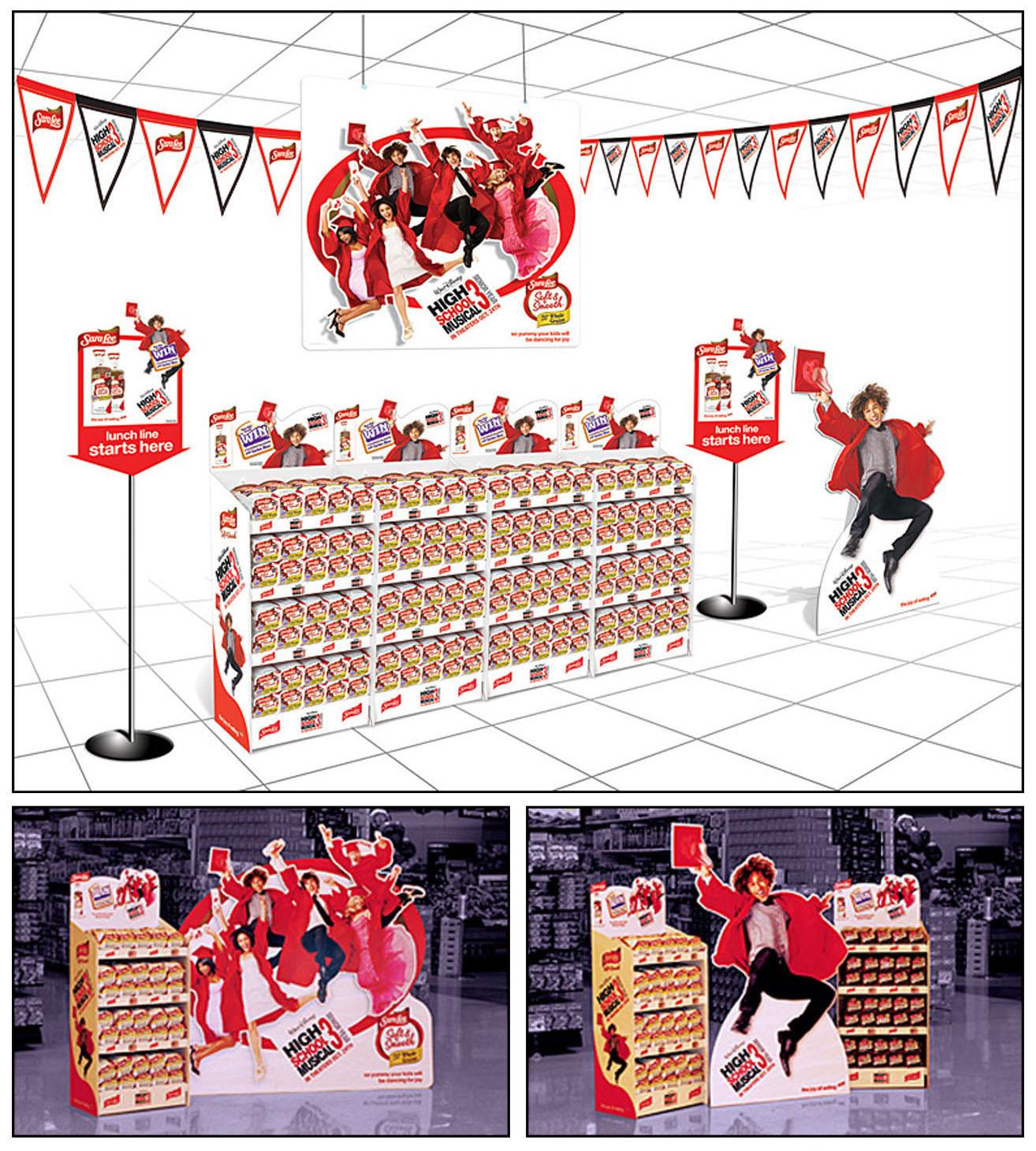 Sara Lee: HSM3 Promotion – Merchandising Displays