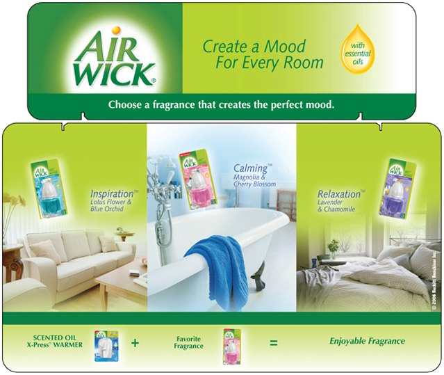 Airwick: Tri-Fold Display