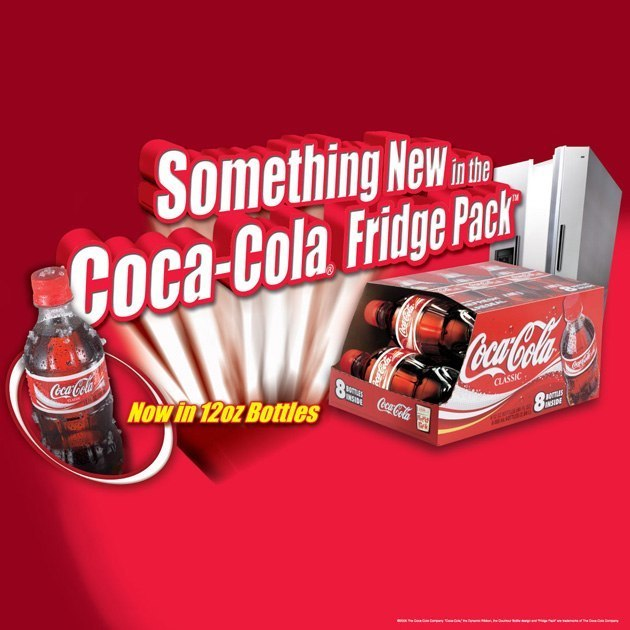 Coke Fridge Pack: Table Runner