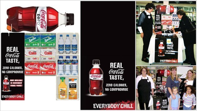 Coke Fridge Pack: Tri-Fold & Table Runner