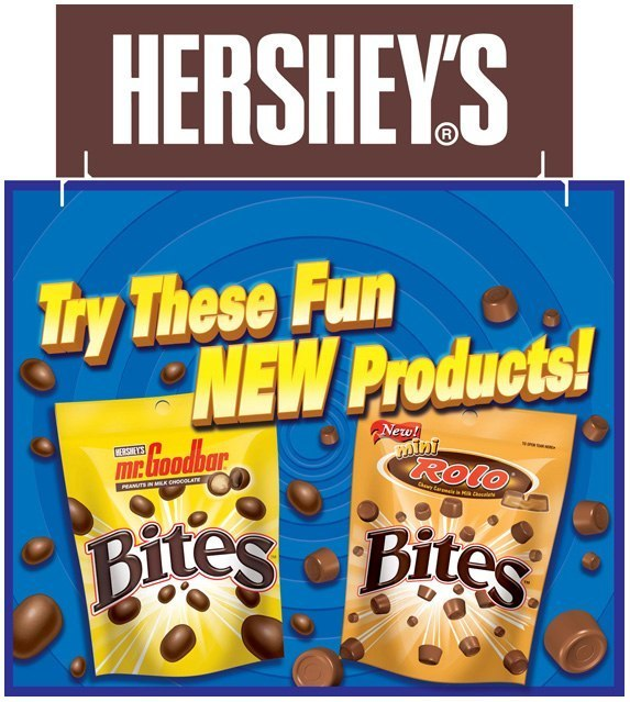 Hershey's Bites: Tri-Fold Display