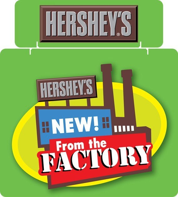 Hershey's: Tri-Fold Display
