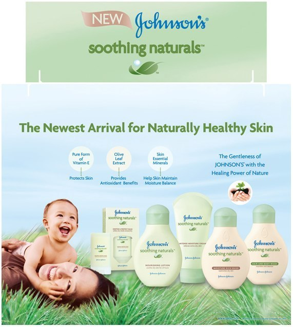 Johnson & Johnson: Tri-Fold Display