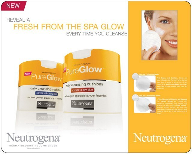 Neutrogena: Bi-Fold Display