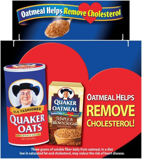 Quaker Oats: Tri-Fold Display