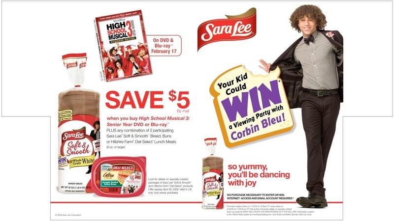 Sara Lee: HSM3 Promotion – Shelf Divider