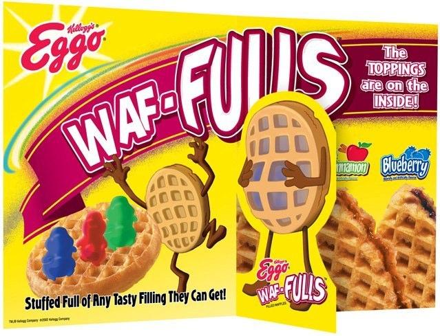 Kellogg's Eggo: 3D Freezer Door Cling