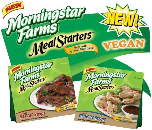 Morningstar Farms: Freezer Door Cling