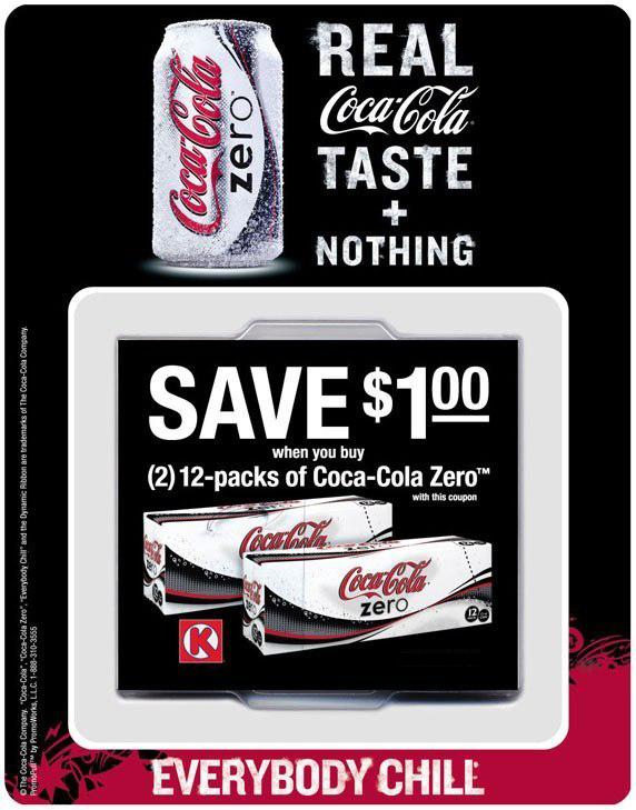 Coke Zero: Offer Dispenser