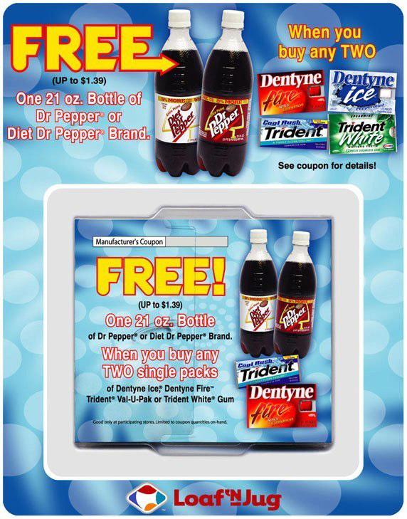Dr Pepper / Dentyne: Offer Dispenser