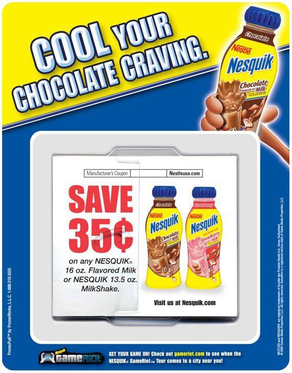Nestlé Nesquik: Offer Dispenser