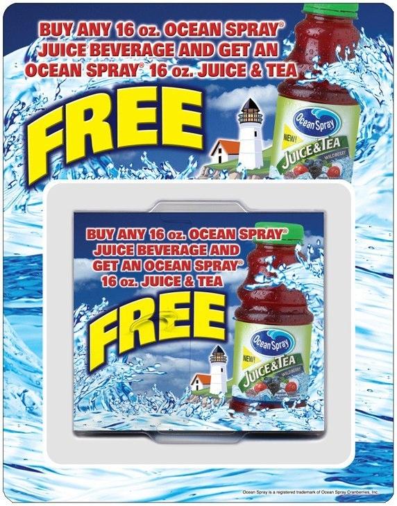 Ocean Spray: Offer Dispenser