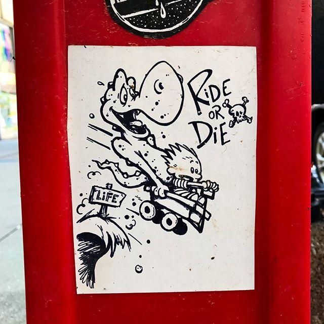 Buy the ticket, take the ride – always . . @tmoneydelarue #tmoney #tmoneydelarue #life #rideordie #sticker #art #stickerart #streetart #chicago #streetarteverywhere #streetartphotography #streetartistry #streetartchicago #chicagostreetart #ambassadorofgoodcheer #aogc