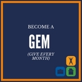 Becoming a monthly donor ( G ive  E very  M onth) benefits Second Chance by providing stable funding for year-round programming.   Click here to see how your GEM donation facilitates a second chance .