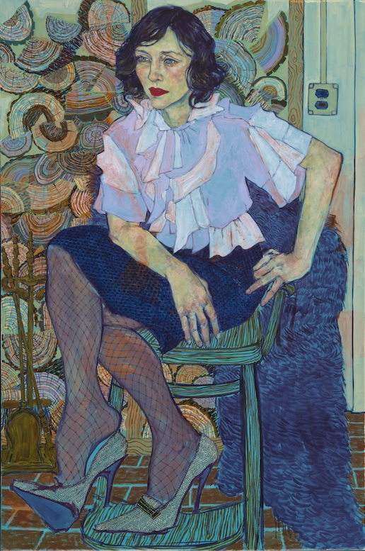 The Susan Inglett Gallery presents Hope Gangloff's fifth solo show displaying emotional portraits of various subjects in their daily iives. These intensely realistic subjects are vivid, vulnerable and completely human. Gangloff masterfully captures vital details with each canvas through their personal style and expressions. Rich color and lush texture add to the allure of these paintings.
