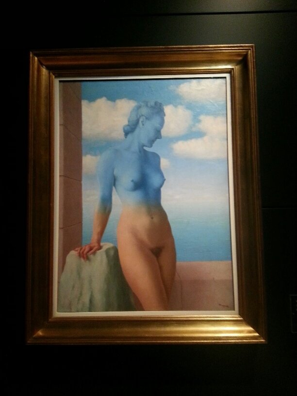 Rene Magritte at the Magritte Museum