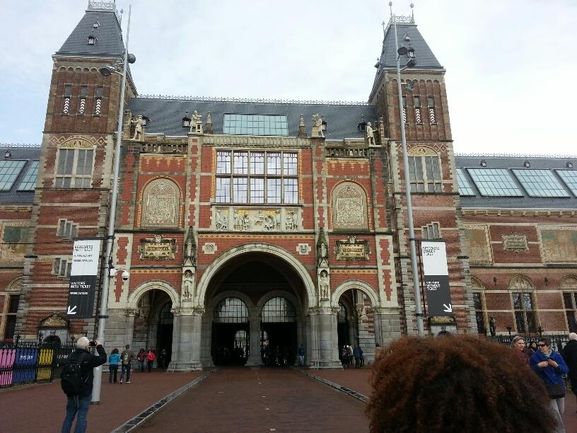 Entrance to Rijksmuseum