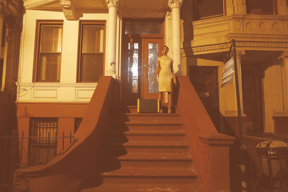 'In Search of the Sweet Life', Kia Labeija on Sugar Hill, 2015. Courtesy of the artist.