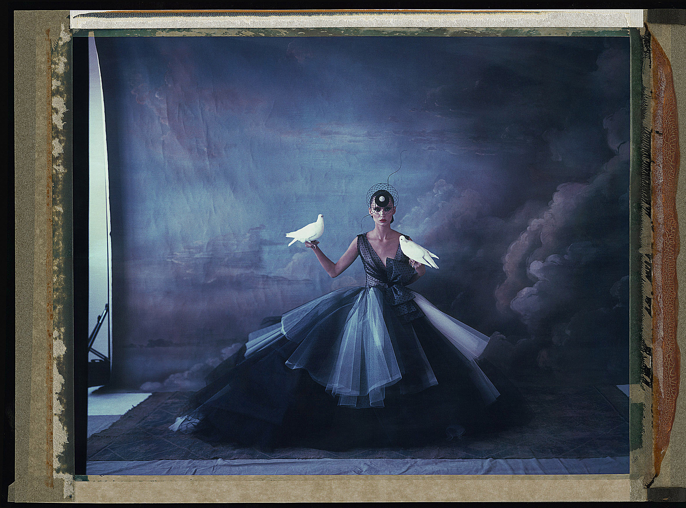 L'ARCHE DE NOÉ VIII, DIOR - PHILIP TREACY, HAUTE   COUTURE SUMMER 2012, 2012.   Chromogenic print from original polaroid, 20 x 24 inches (50 x 60 cm).   ©   Cathleen Naundorf / Courtesy Edwynn Houk Gallery, New York & Zürich