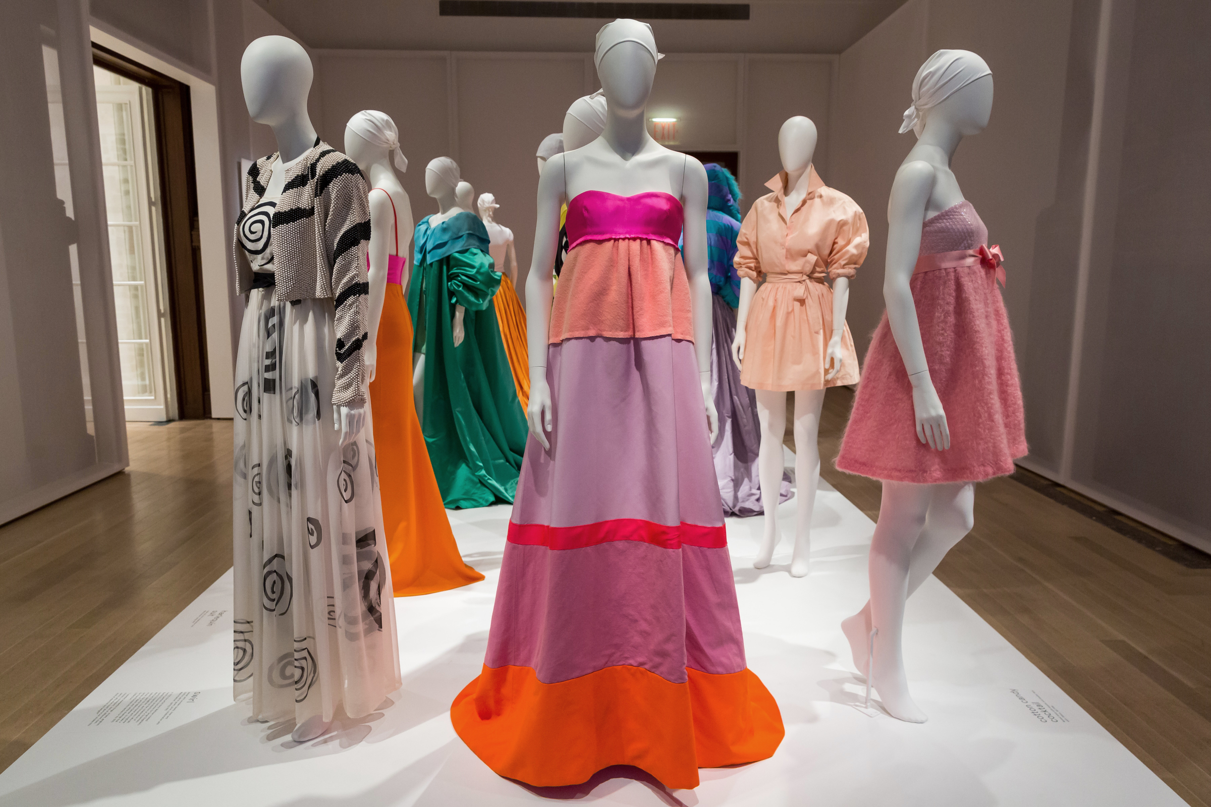 Installation view of the exhibition Isaac Mizrahi: An Unruly History, March 18-August 7, 2016.  Photo by: Will Ragozzino/SocialShutterbug.com